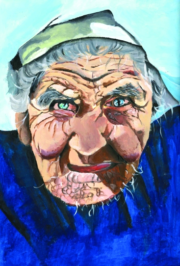 Alexeen Old woman complete